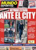 Portada Mundo Deportivo del 18 de Enero de 2014