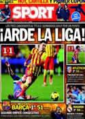 Portada diario Sport del 20 de Enero de 2014