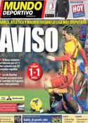 Portada Mundo Deportivo del 20 de Enero de 2014