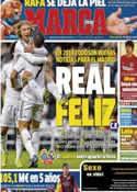 Portada diario Marca del 21 de Enero de 2014