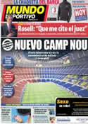 Portada Mundo Deportivo del 21 de Enero de 2014