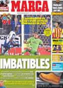 Portada diario Marca del 22 de Enero de 2014