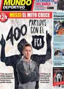 Portada Mundo Deportivo del 22 de Enero de 2014