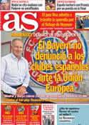 Portada diario AS del 23 de Enero de 2014