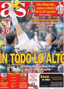 Portada diario AS del 26 de Enero de 2014