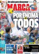 Portada diario Marca del 26 de Enero de 2014