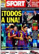 Portada diario Sport del 26 de Enero de 2014