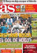 Portada diario AS del 27 de Enero de 2014