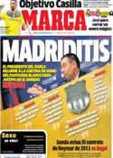 Portada diario Marca del 28 de Enero de 2014
