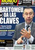 Portada Mundo Deportivo del 28 de Enero de 2014
