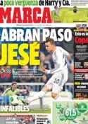 Portada diario Marca del 29 de Enero de 2014