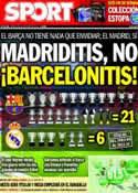 Portada diario Sport del 29 de Enero de 2014