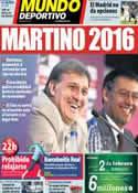 Portada Mundo Deportivo del 29 de Enero de 2014