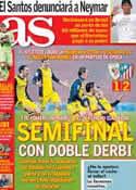Portada diario AS del 30 de Enero de 2014