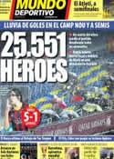 Portada Mundo Deportivo del 30 de Enero de 2014