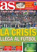 Portada diario AS del 31 de Enero de 2014
