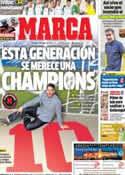 Portada diario Marca del 31 de Enero de 2014