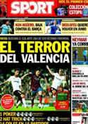 Portada diario Sport del 1 de Febrero de 2014