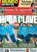 Portada Mundo Deportivo del 1 de Febrero de 2014