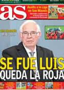 Portada diario AS del 2 de Febrero de 2014