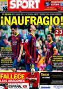 Portada diario Sport del 2 de Febrero de 2014