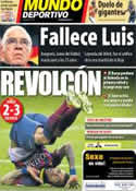 Portada Mundo Deportivo del 2 de Febrero de 2014