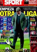 Portada diario Sport del 3 de Febrero de 2014