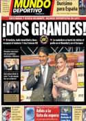 Portada Mundo Deportivo del 4 de Febrero de 2014