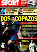 Portada diario Sport del 5 de Febrero de 2014