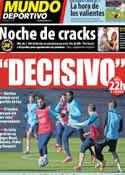 Portada Mundo Deportivo del 5 de Febrero de 2014