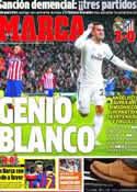 Portada diario Marca del 6 de Febrero de 2014