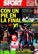 Portada diario Sport del 6 de Febrero de 2014