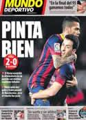 Portada Mundo Deportivo del 6 de Febrero de 2014