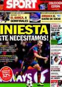 Portada diario Sport del 8 de Febrero de 2014