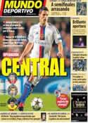 Portada Mundo Deportivo del 8 de Febrero de 2014