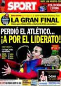 Portada diario Sport del 9 de Febrero de 2014