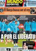 Portada Mundo Deportivo del 9 de Febrero de 2014