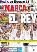 Portada diario Marca del 10 de Febrero de 2014