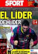 Portada diario Sport del 10 de Febrero de 2014