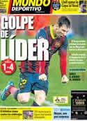 Portada Mundo Deportivo del 10 de Febrero de 2014