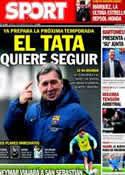 Portada diario Sport del 11 de Febrero de 2014