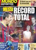 Portada Mundo Deportivo del 11 de Febrero de 2014