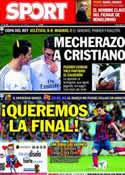 Portada diario Sport del 12 de Febrero de 2014