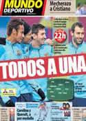 Portada Mundo Deportivo del 12 de Febrero de 2014