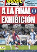 Portada Mundo Deportivo del 13 de Febrero de 2014