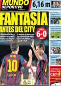Portada Mundo Deportivo del 16 de Febrero de 2014