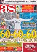 Portada diario AS del 17 de Febrero de 2014