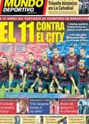Portada Mundo Deportivo del 17 de Febrero de 2014