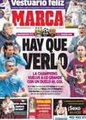 Portada diario Marca del 18 de Febrero de 2014