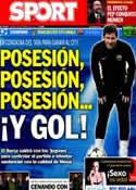 Portada diario Sport del 18 de Febrero de 2014
